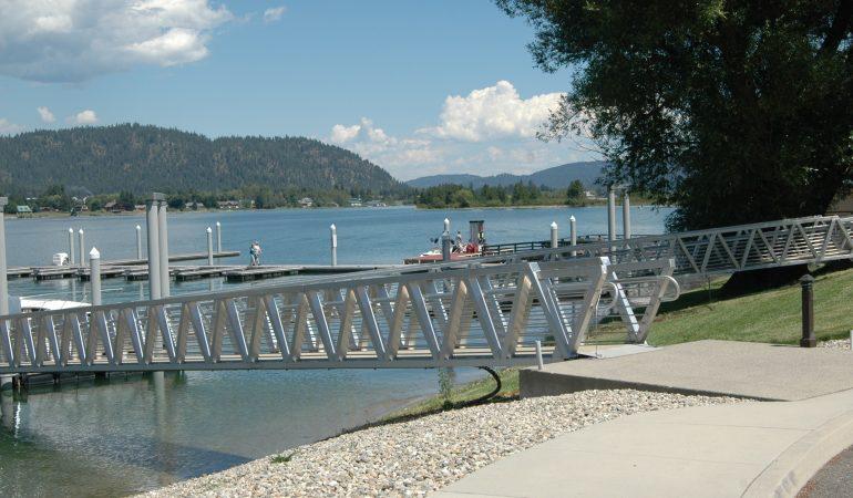 Ramp to Boat Docks