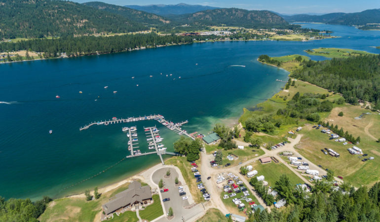 Join the fun on the Pend Oreille River at Willow Bay Idaho!